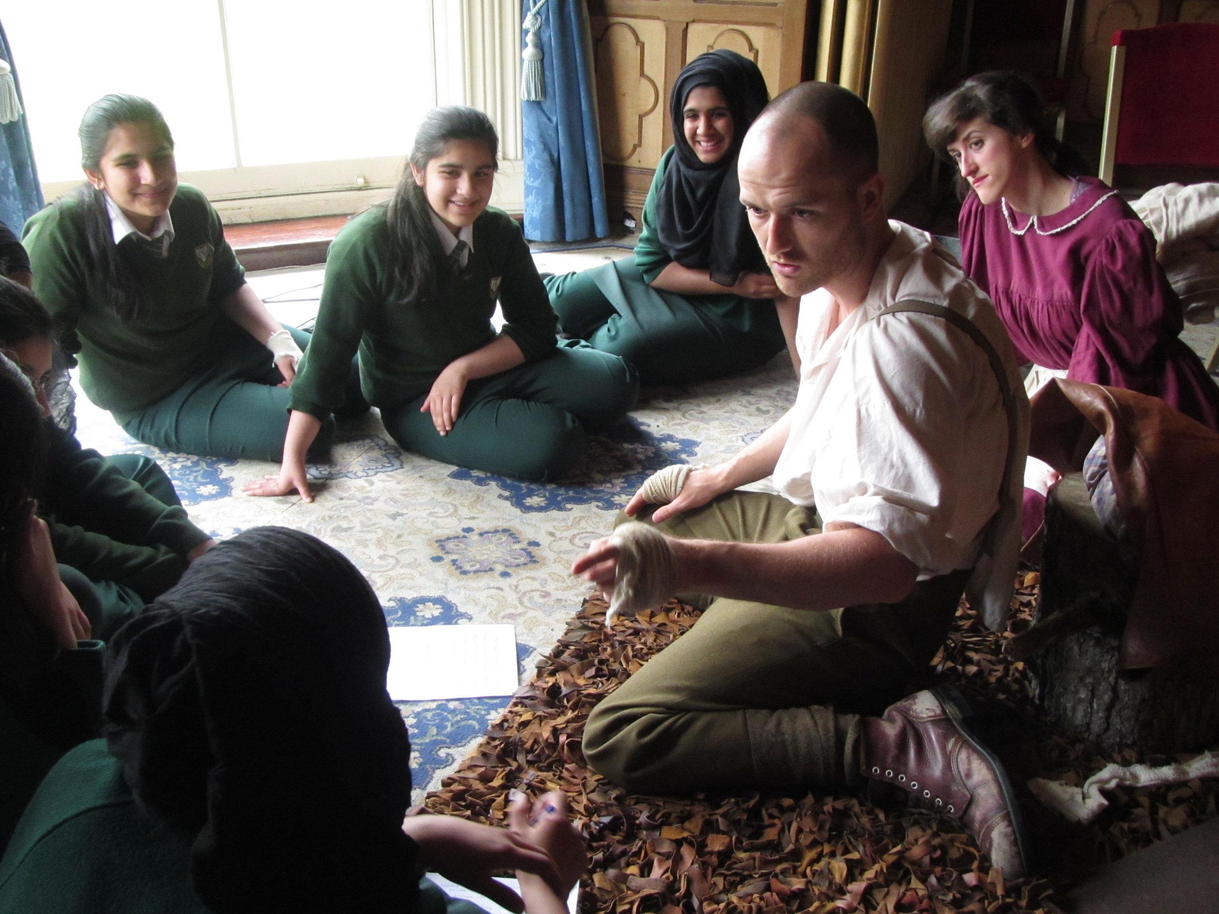 Danny & Vera with Swanshurst students 2.jpg