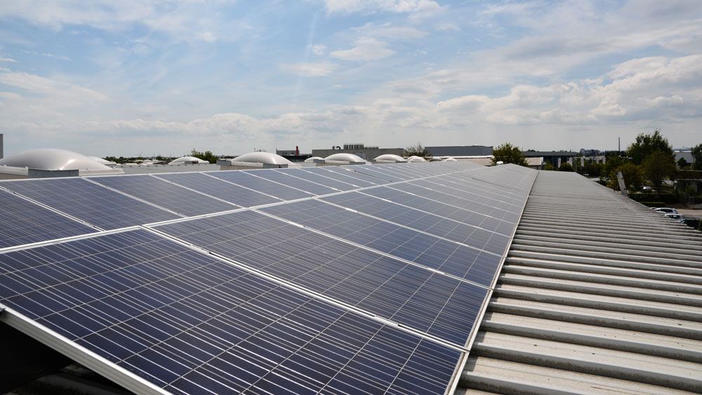 Stromerzeugung - Wir erzeugen mehr Strom als unser Unternehmen verbraucht.