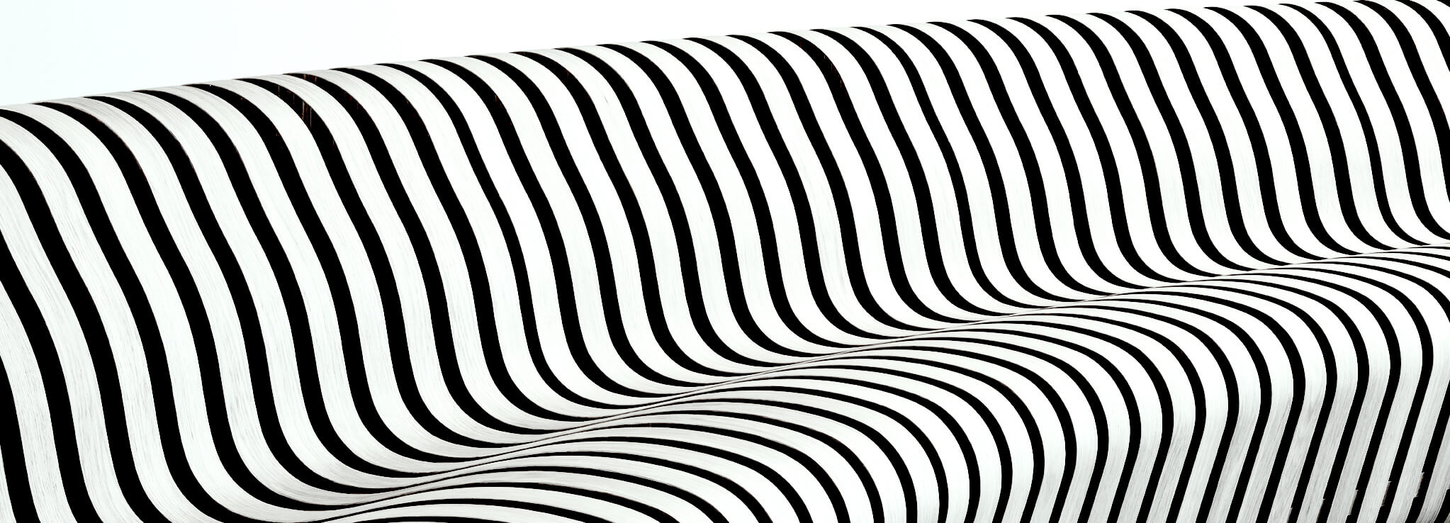 CURVE Bench Graphic For Interactive Surfaces