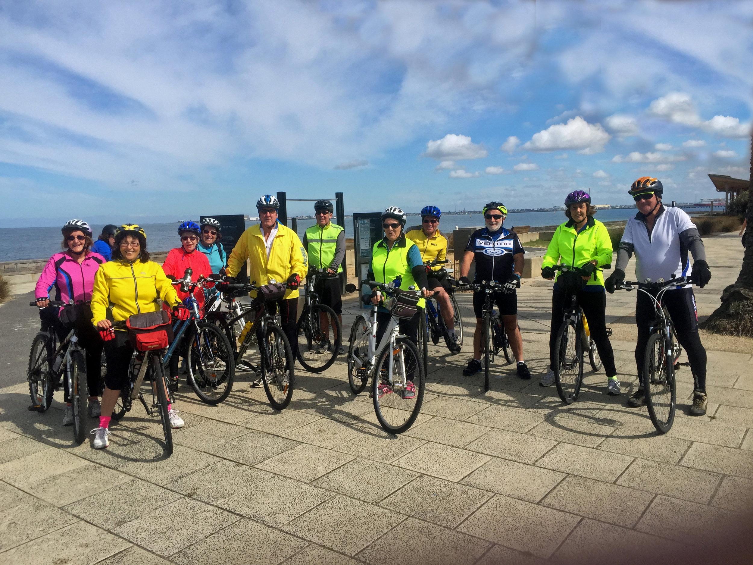 Photo credit: Allan Fowler - U3A Whittlesea 'Thursday Bike RIde'