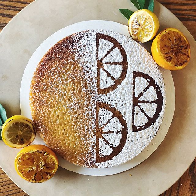 "Our new citrus + olive oil cake is perfectly dense, impossibly moist and made with local EVOO from Santa Fe Olive Oil & Balsamic Co.. 10"". Special order only! . . . . . #cake #dessert #foodie #foodporn #desserts #dessertporn #citrus #food #baker #baking #sweets #cakes #oliveoil #buzzfeast #oliveoilcake #gourmet #feedfeed #huffposttaste #foodgawker #thekitchn #sweetmagazine #droolclub #cakesofinstagram #newmexico #instacake #lemon #orange #santafe"
