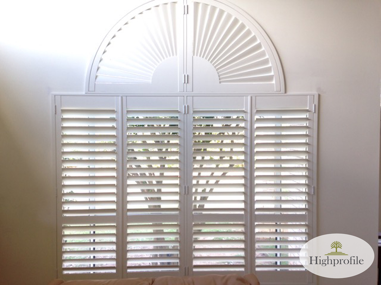 HINGED & SPECIAL SHAPE - PAINTED SILK WHITE