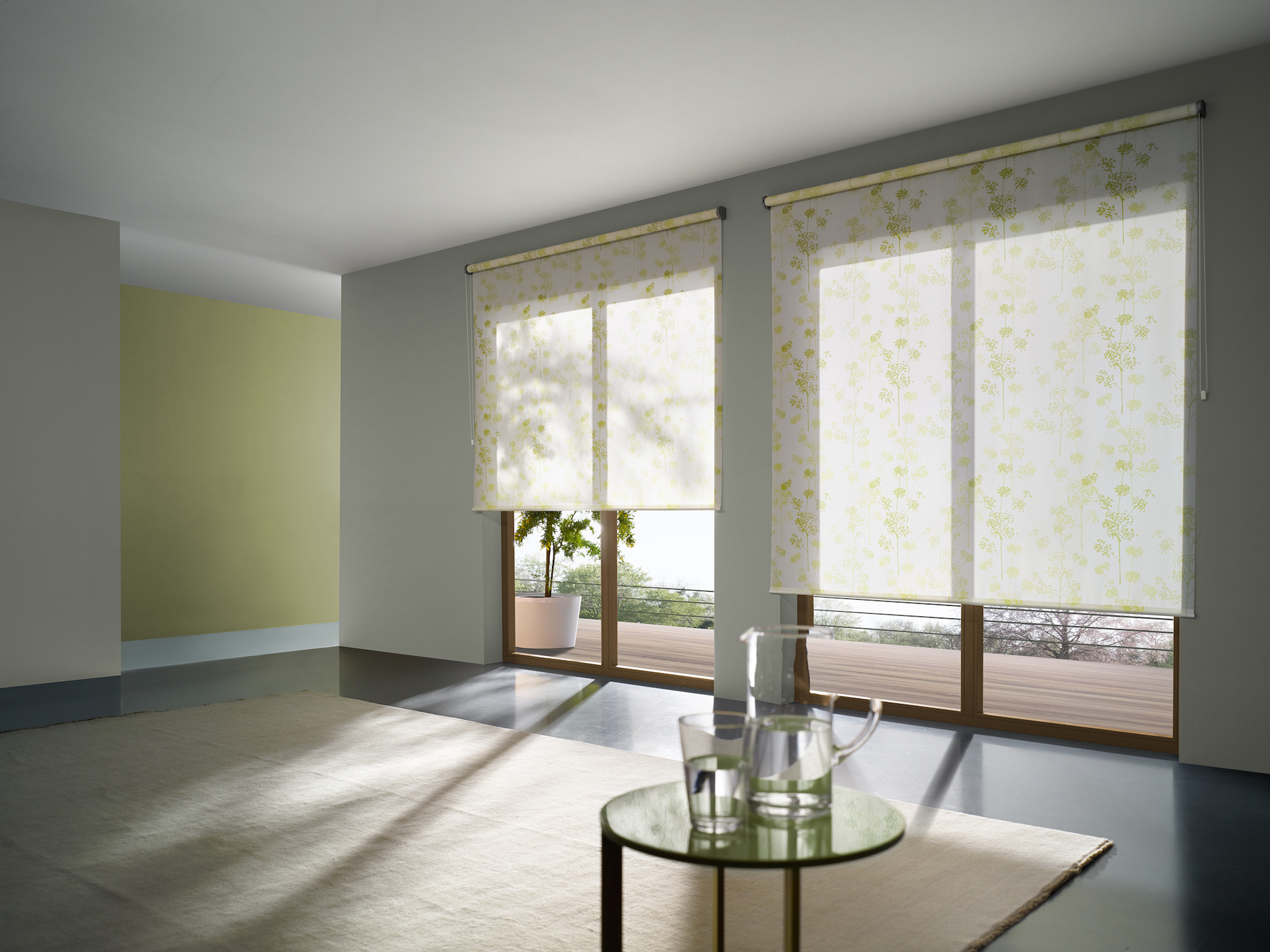 ROLLER BLINDS - CHAIN OPERATION