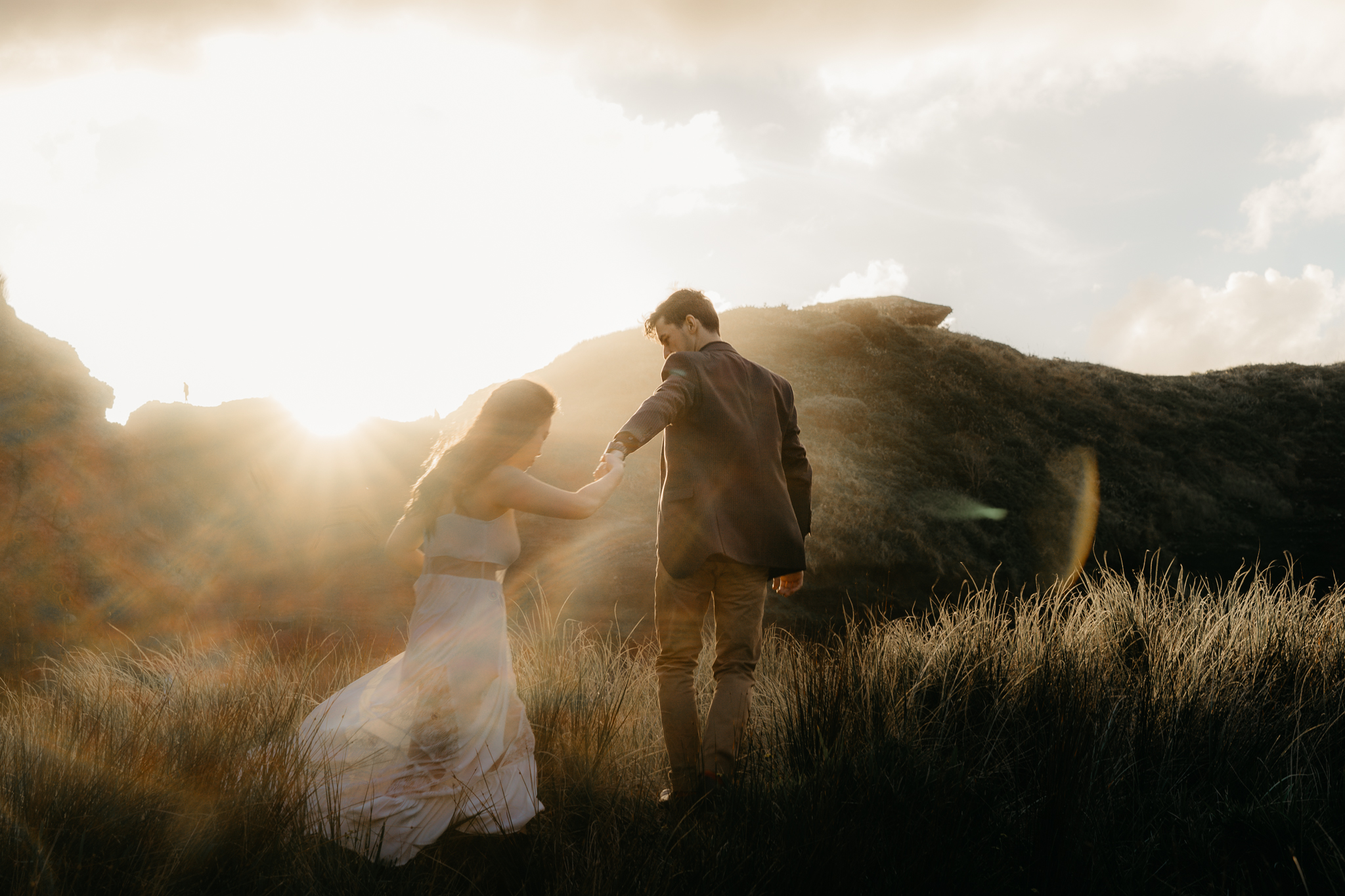 They have found me through  google  to do their  engagement shoot . Hope they hire me as their  Wedding Photographer  as well. This was shot at  Piha beach, Auckland, New Zealand  during sunset as the light is just outstandingly soft. If you are looking for a  wedding photographer in Auckland  I'm the one, As I'm aiming to be one of the  top wedding photographer  in  Auckland . I offer  affordable wedding photography services in Auckland  which is stylistic, documentive and moody.