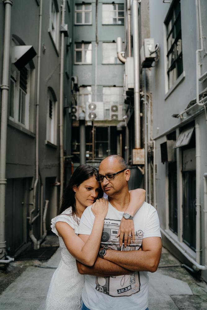 Auckland CBD Engagement Photography Session