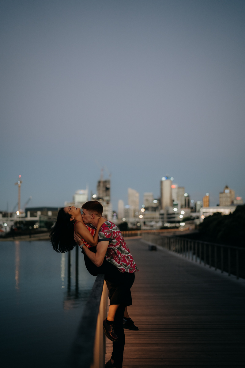 Auckland Valentines Day couple shoot