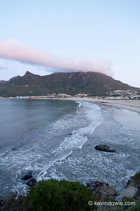 Dawn, Hout Bay, Capetown, South Africa (vertical)