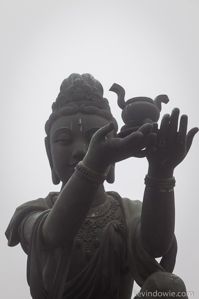 Buddha with offering