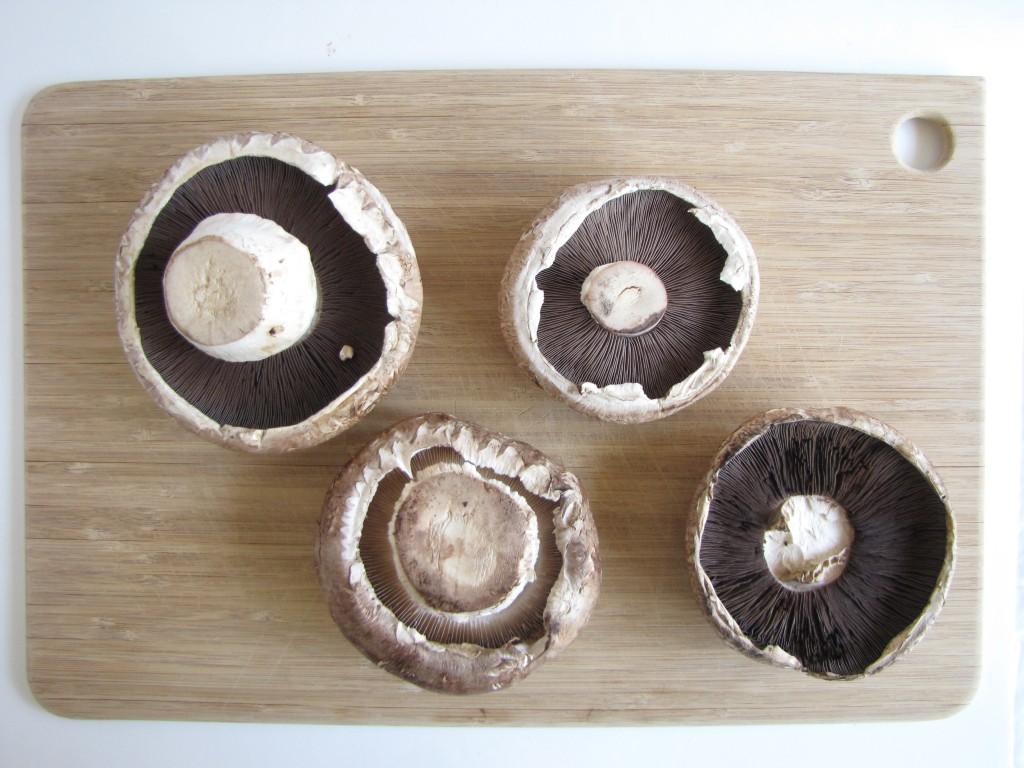 Roasted Portobello Mushroom Buns
