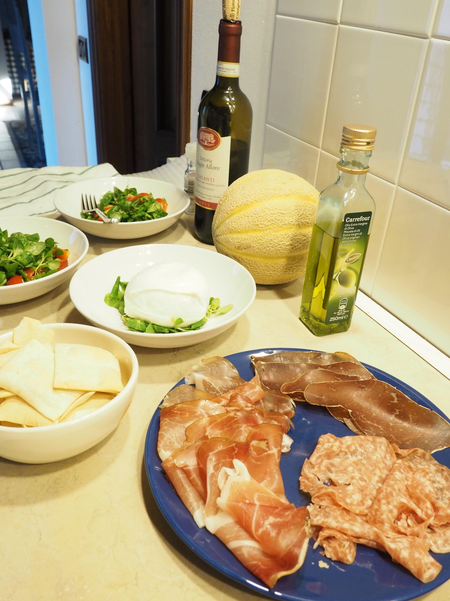 A Taste of Italy: Insalata Valerian