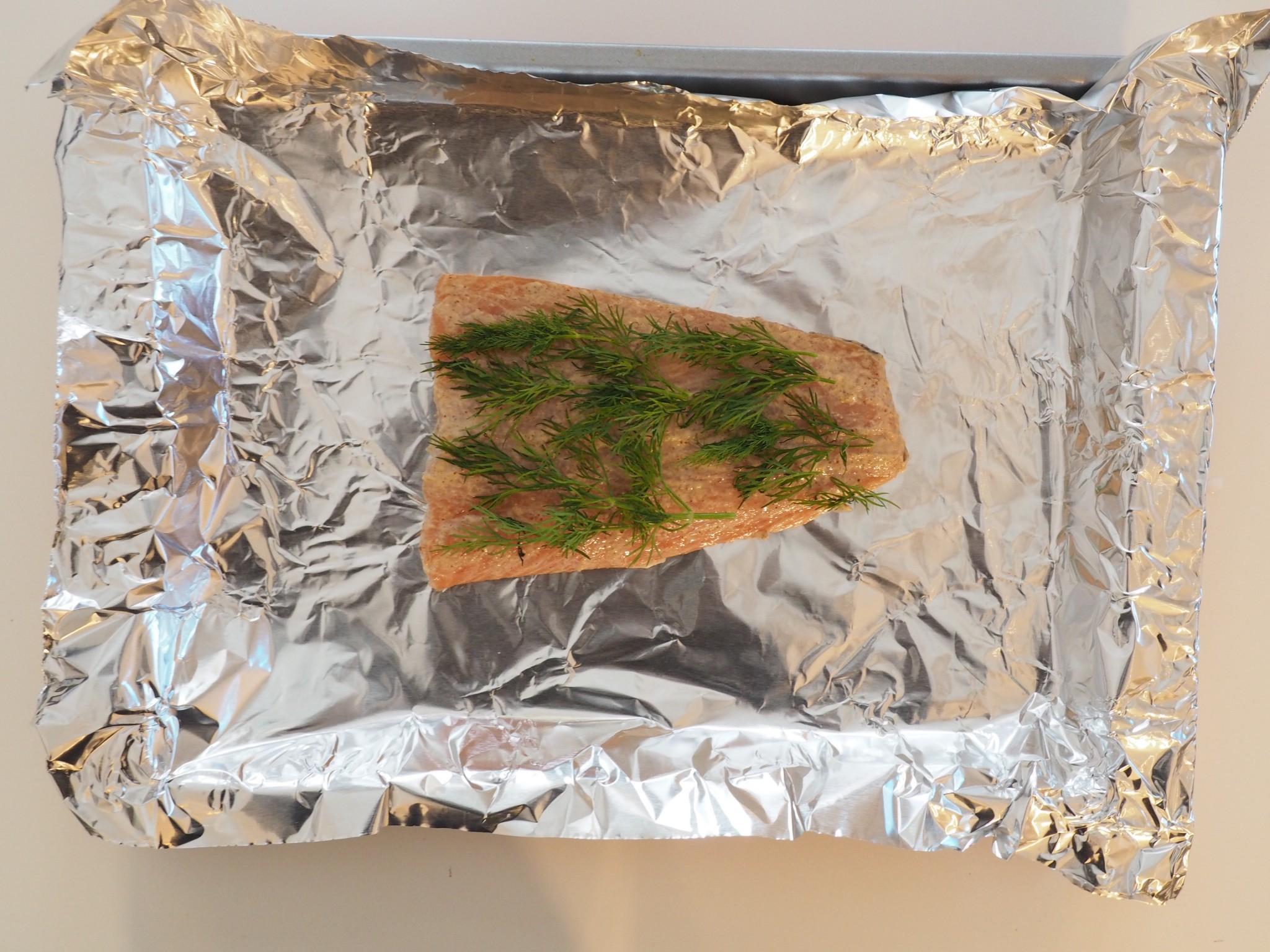 Baked Salmon Salad LetsRegale.com4