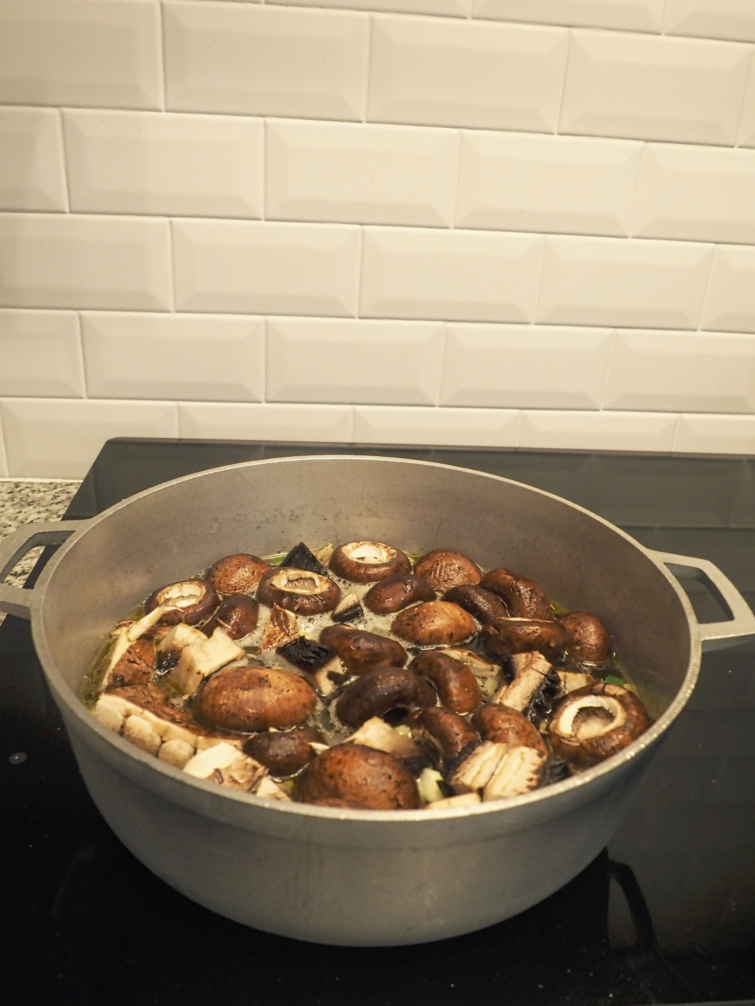 Savory Mushroom Soup4