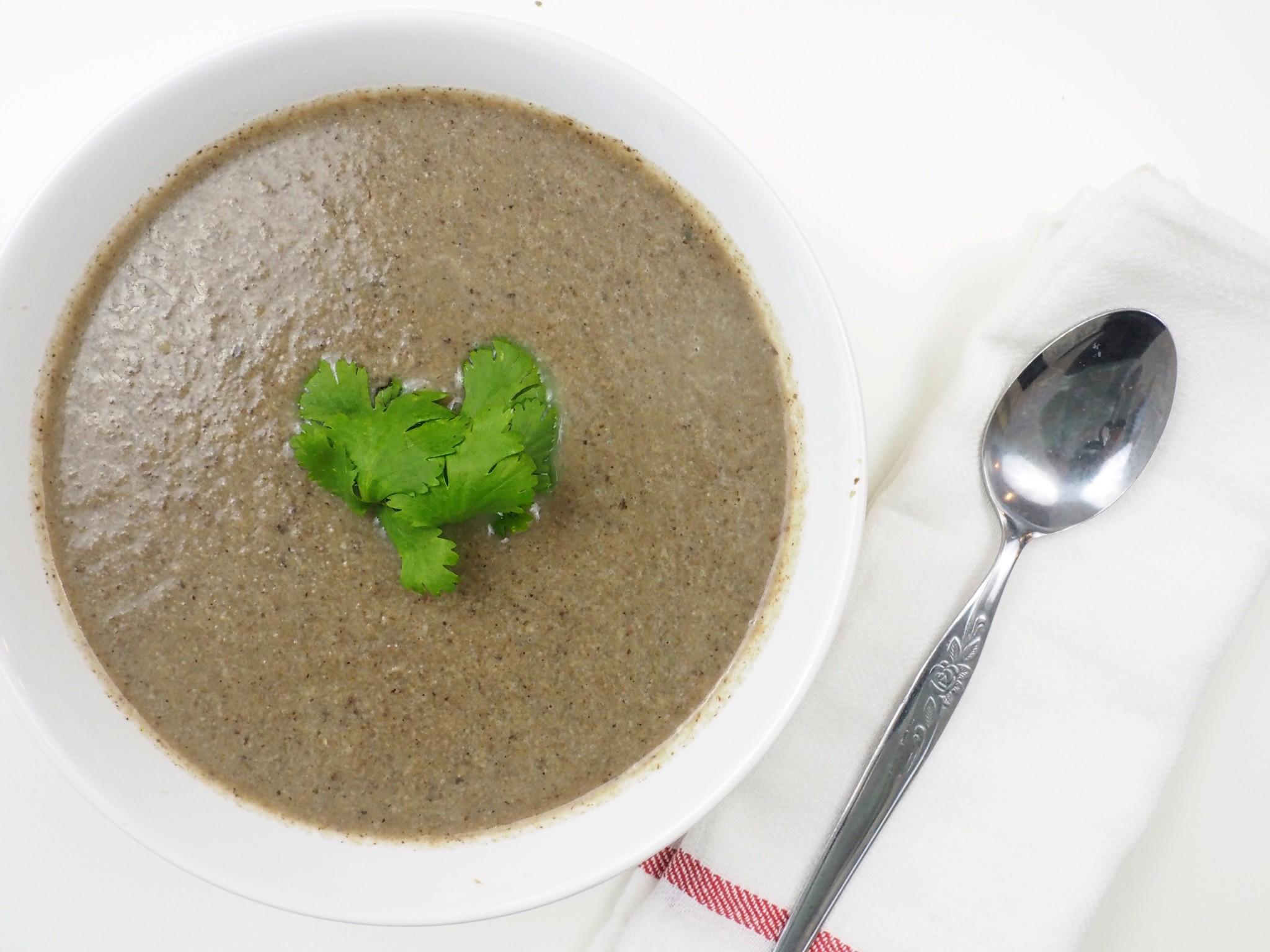 Savory Mushroom Soup7