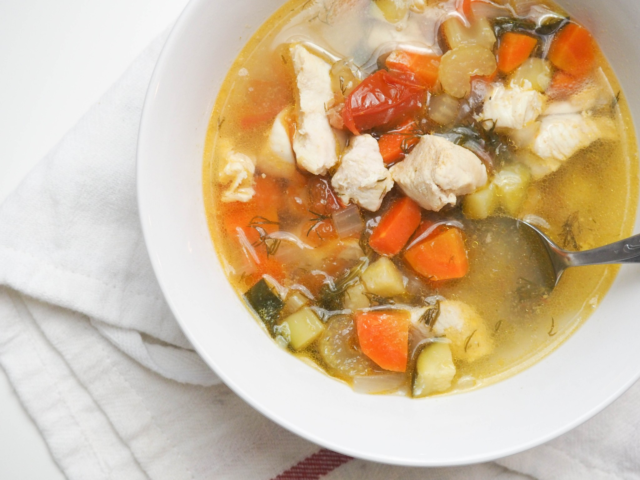 classic chicken soup-4