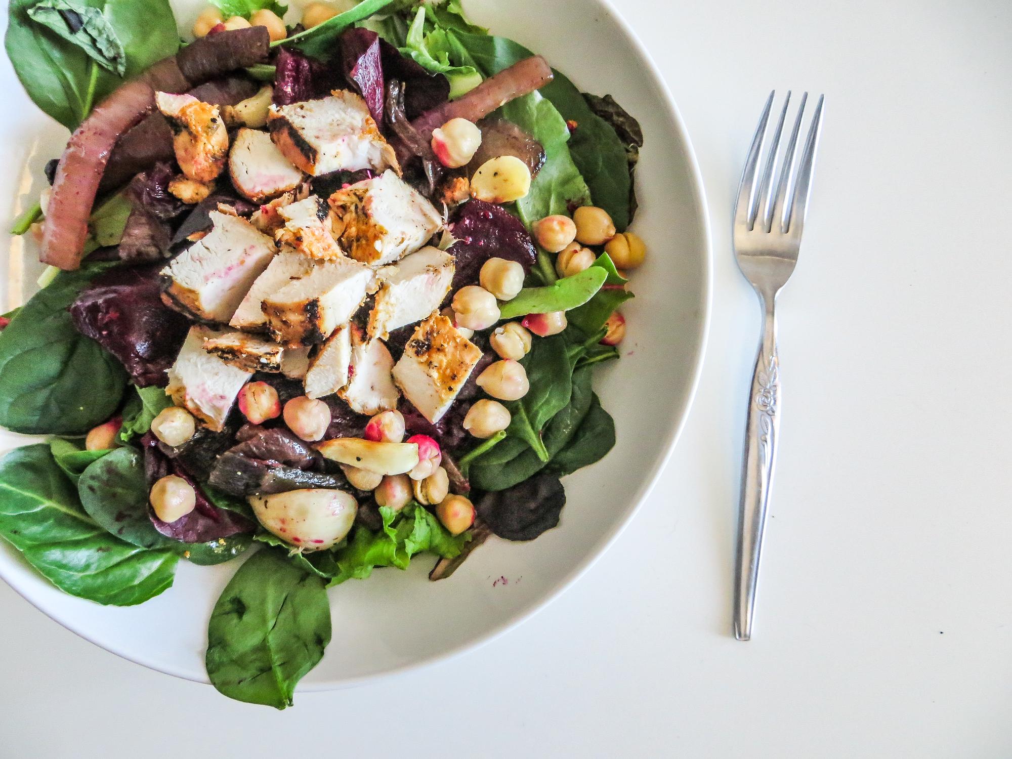 Chicken Spring Salad 2