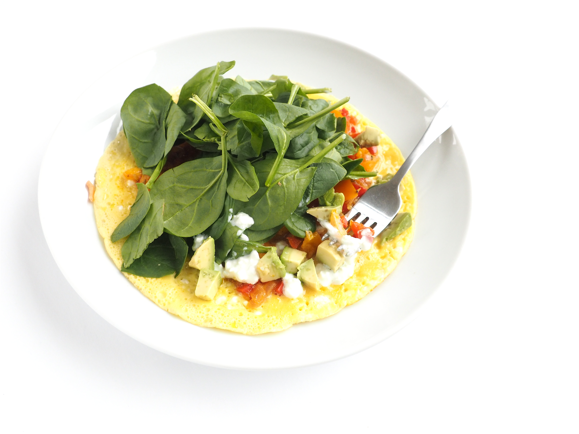 Open-Faced Spinach Omelete_14