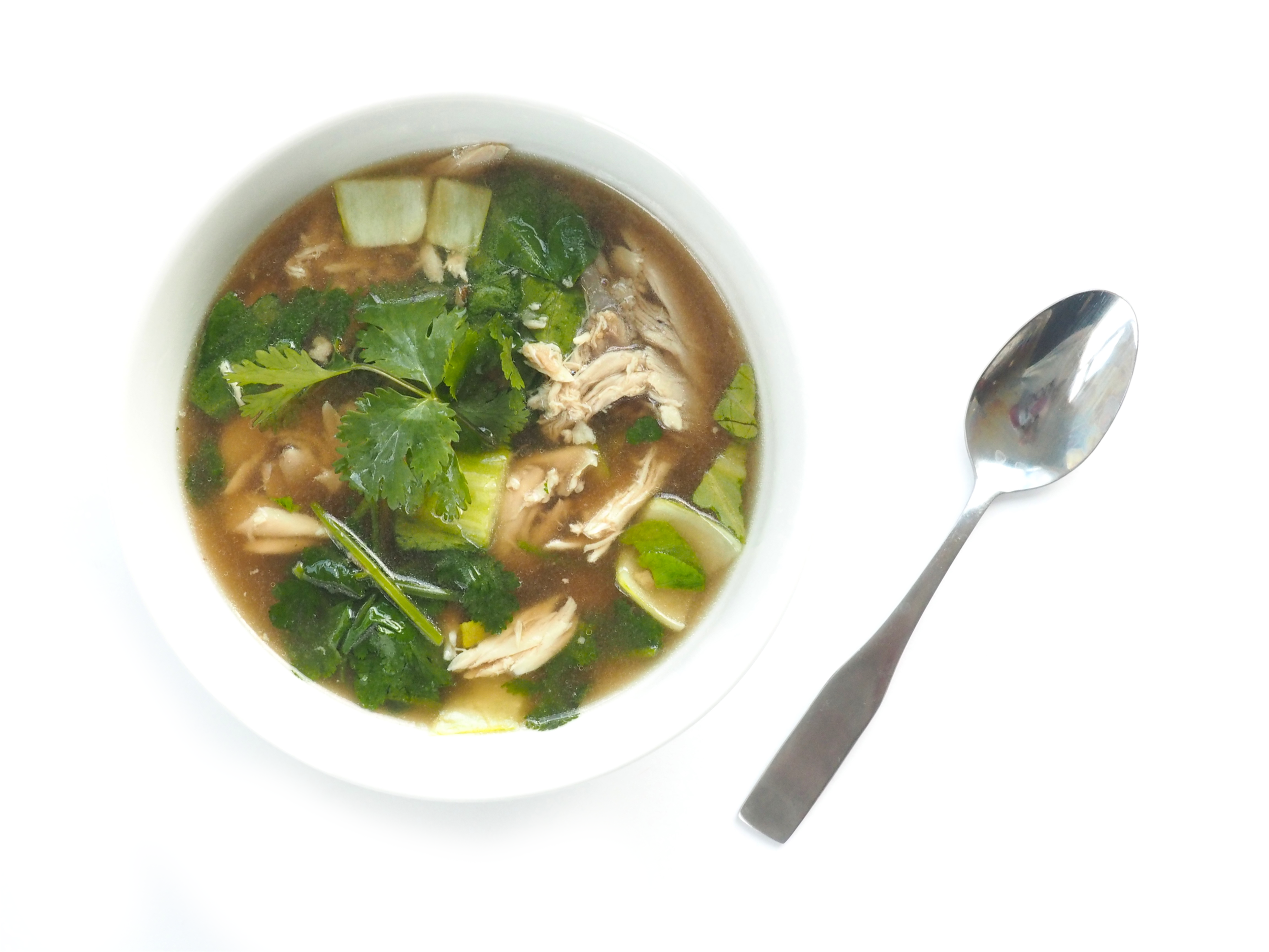 Quick Vietnamese Chicken Pho 2