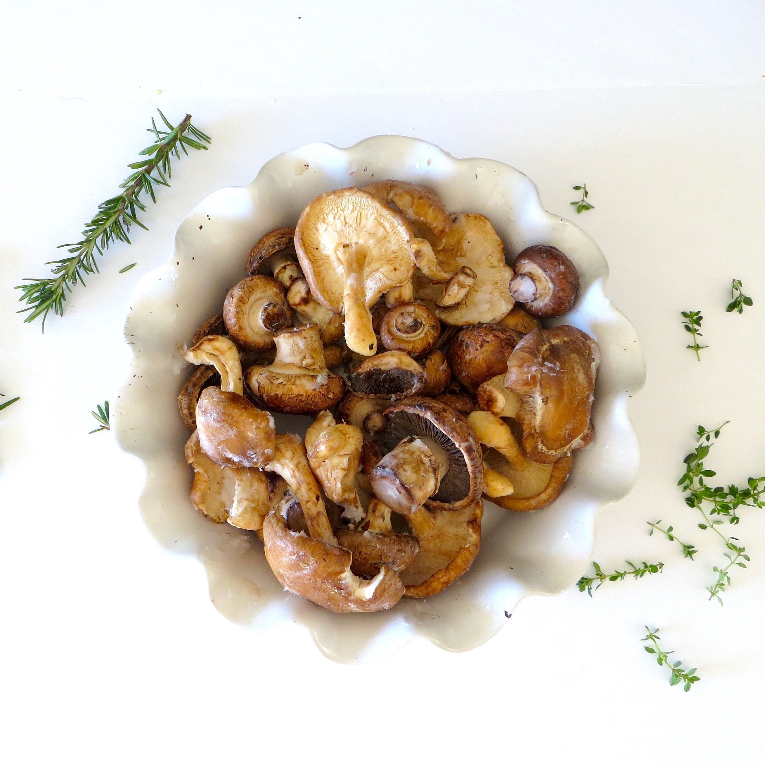 Oven Roasted Mushrooms with Lemon Thyme_7