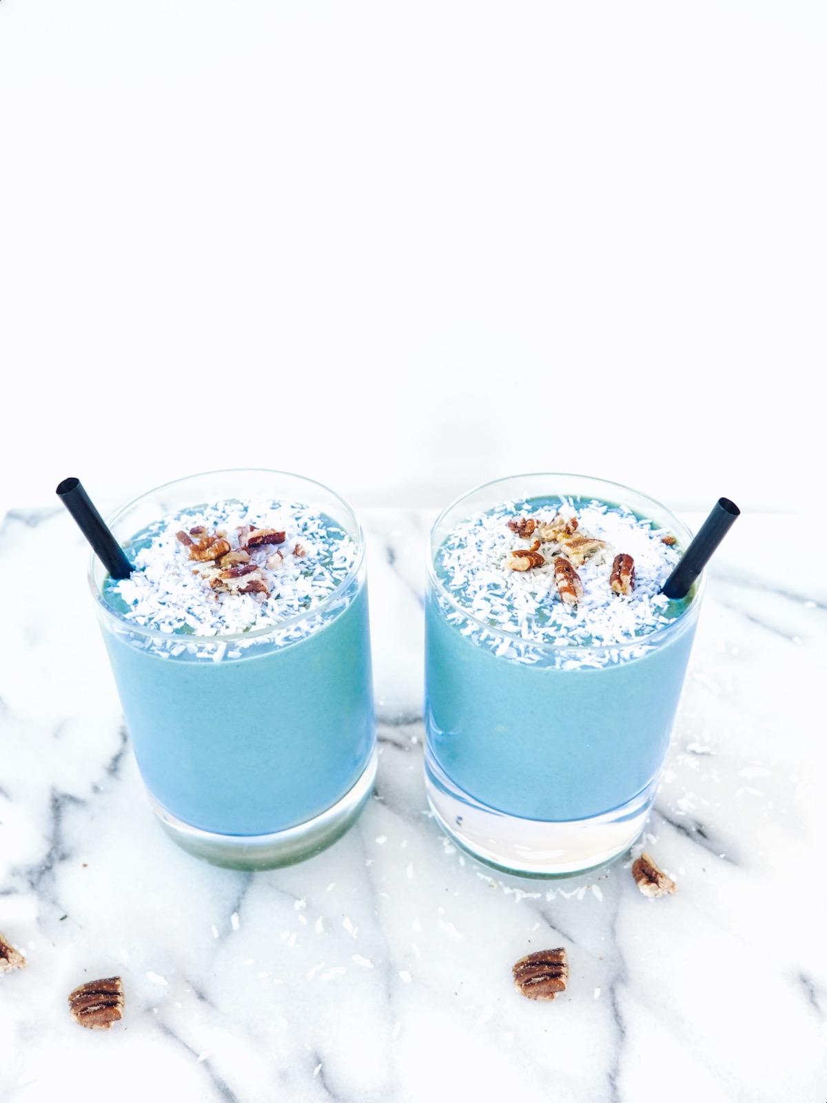 Coastal Dreams Blue-Green Coconut #Smoothie