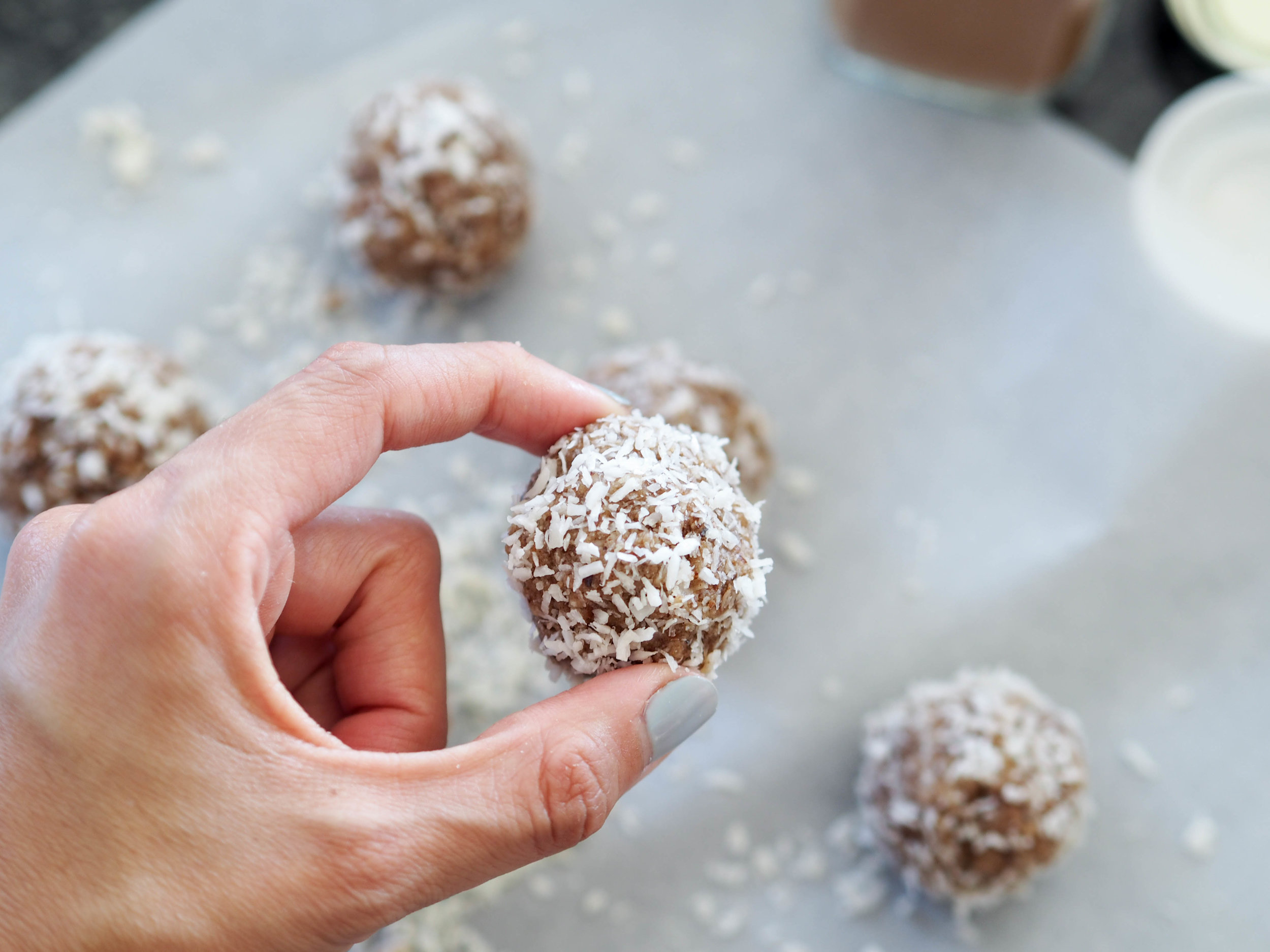 Raw Cinnamon Donut Holes_glutenfree_vegan