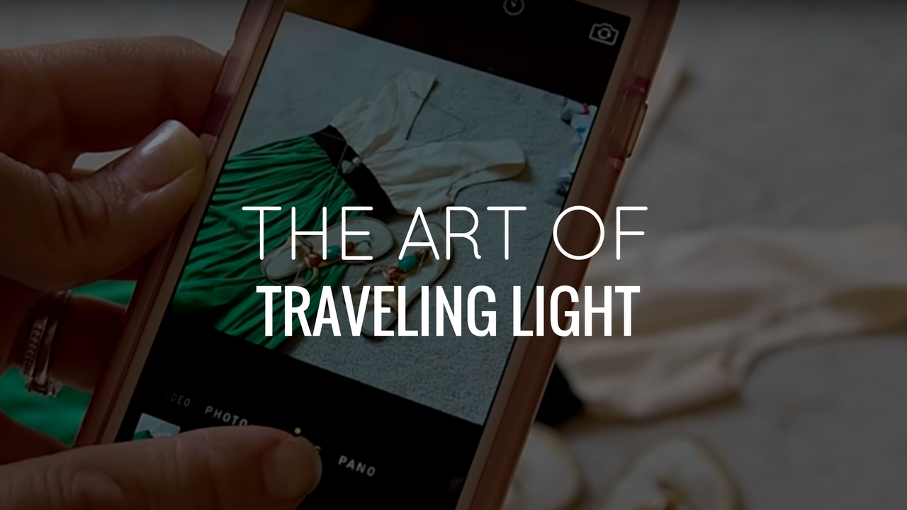 The Art of Traveling Ultra Light