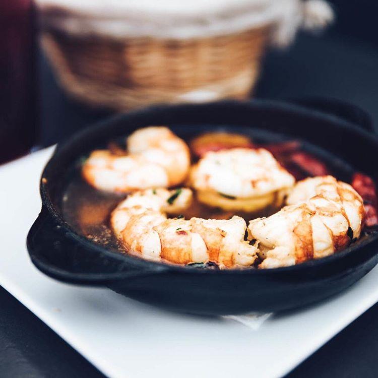 Shrimp at Taberna Del Sur