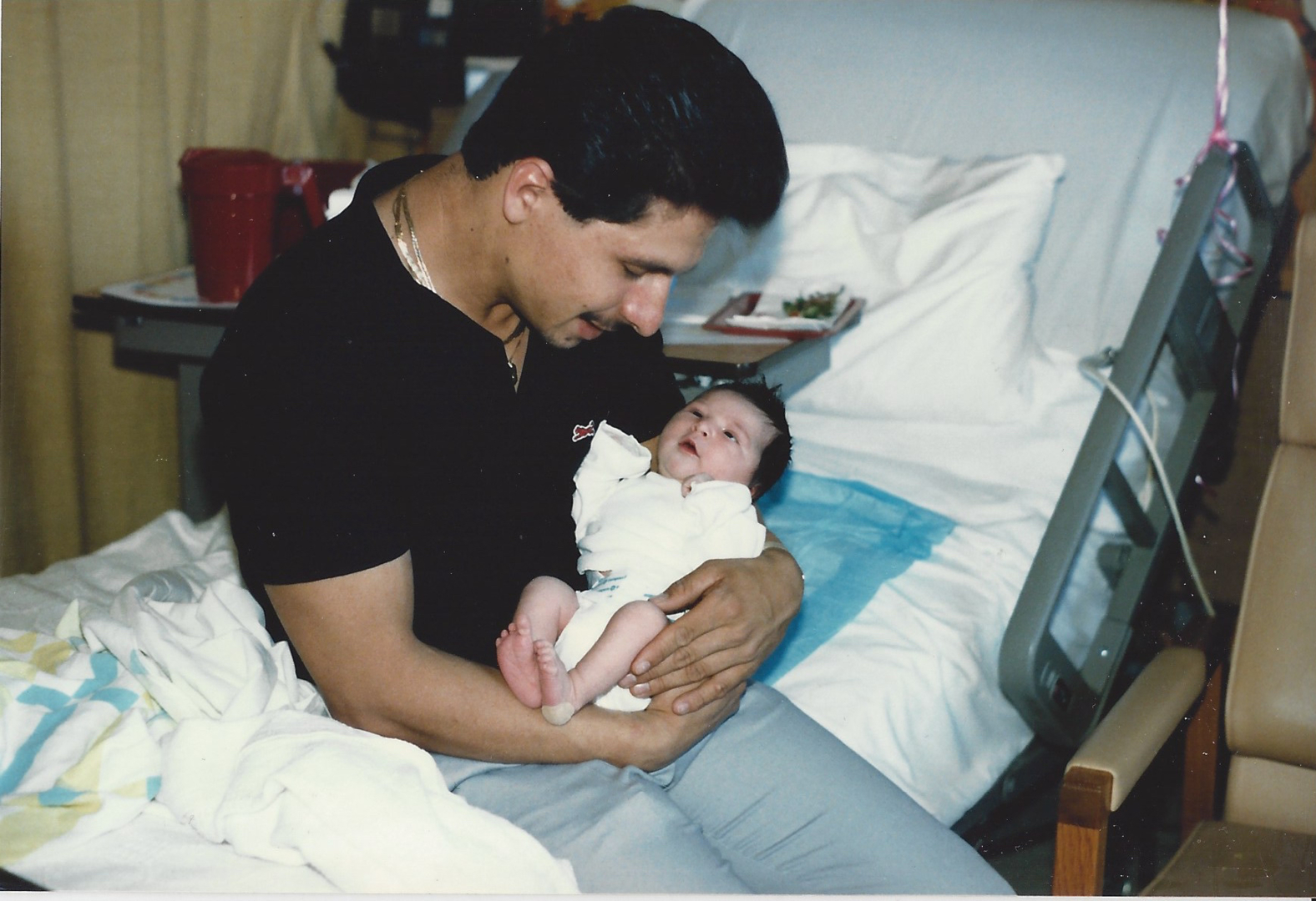 Me with my Dad 32-years ago.