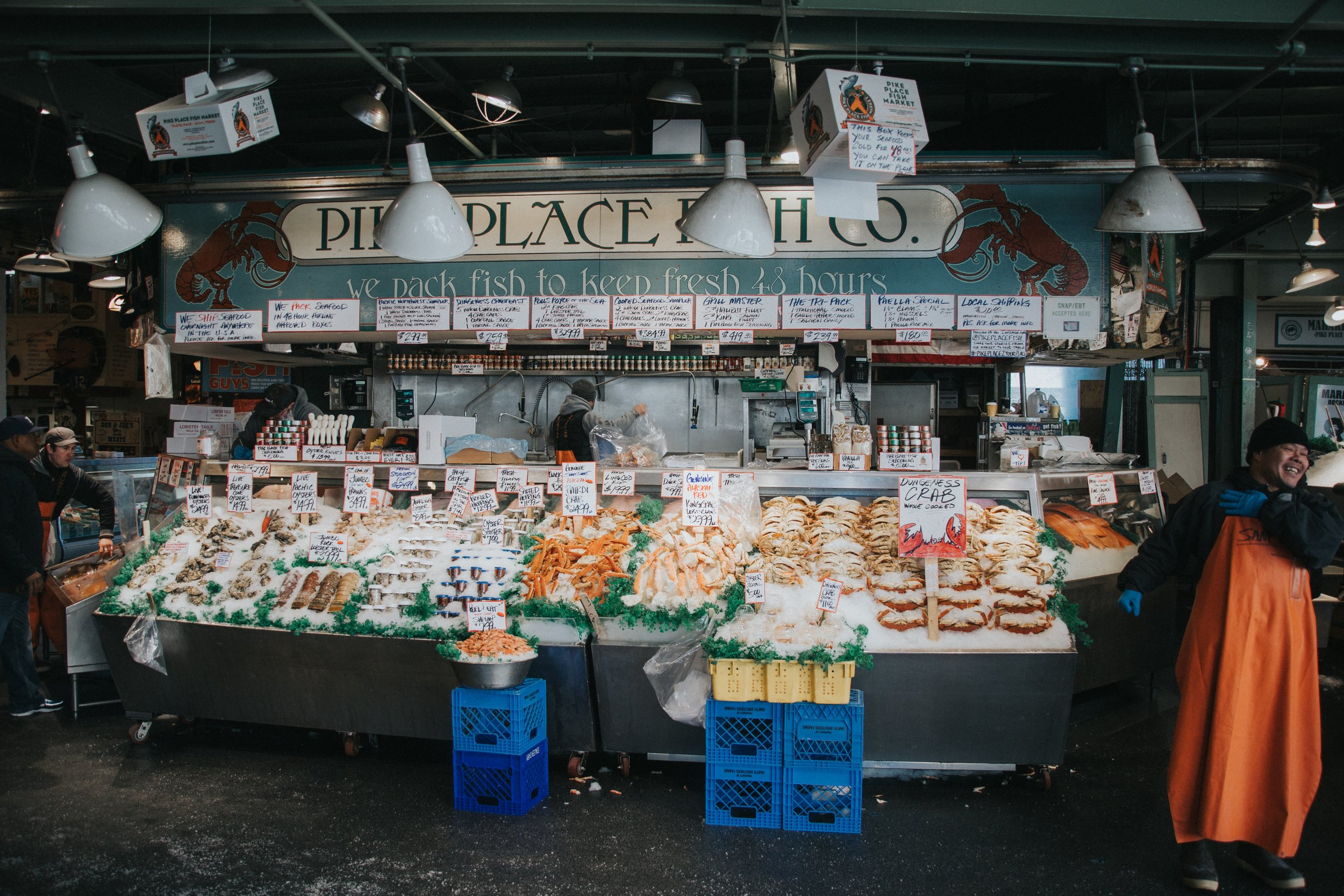 Insiders guide to seattle -public market fish stalls - www.letsregale.com.jpg