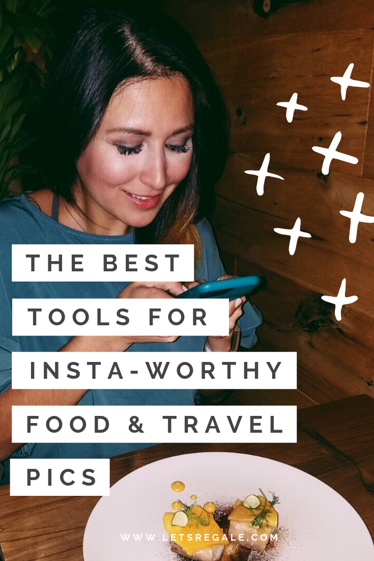 The Best Tools For Insta-Worthy Food & Travel Pics  - best travel gardgets, travel accessories, 2019 best travel photography gear - www.letsregale.com