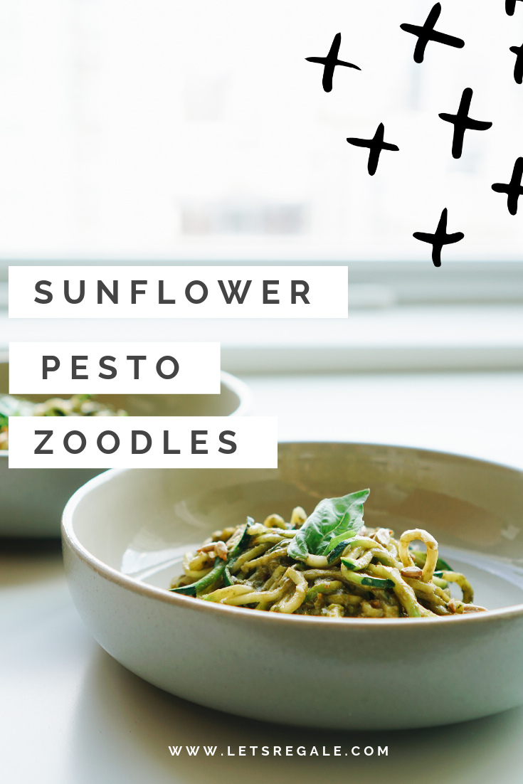 Sunflower Pesto Zoodles  - soy free gluten free zoodles  - www.letsregale.com .png