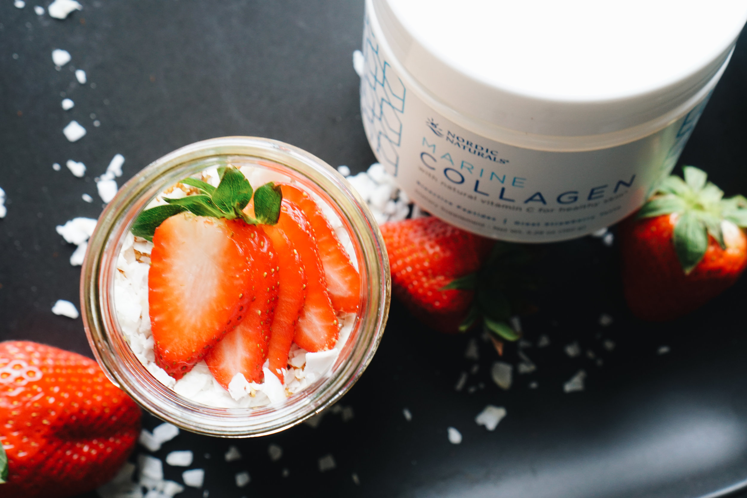 Nordic Naturals Collagen Strawberry Fields Collagen Chia Pudding  - healthy meals, gluten free, keto friendly, low carb - www.letsregale.com _ 7.jpg