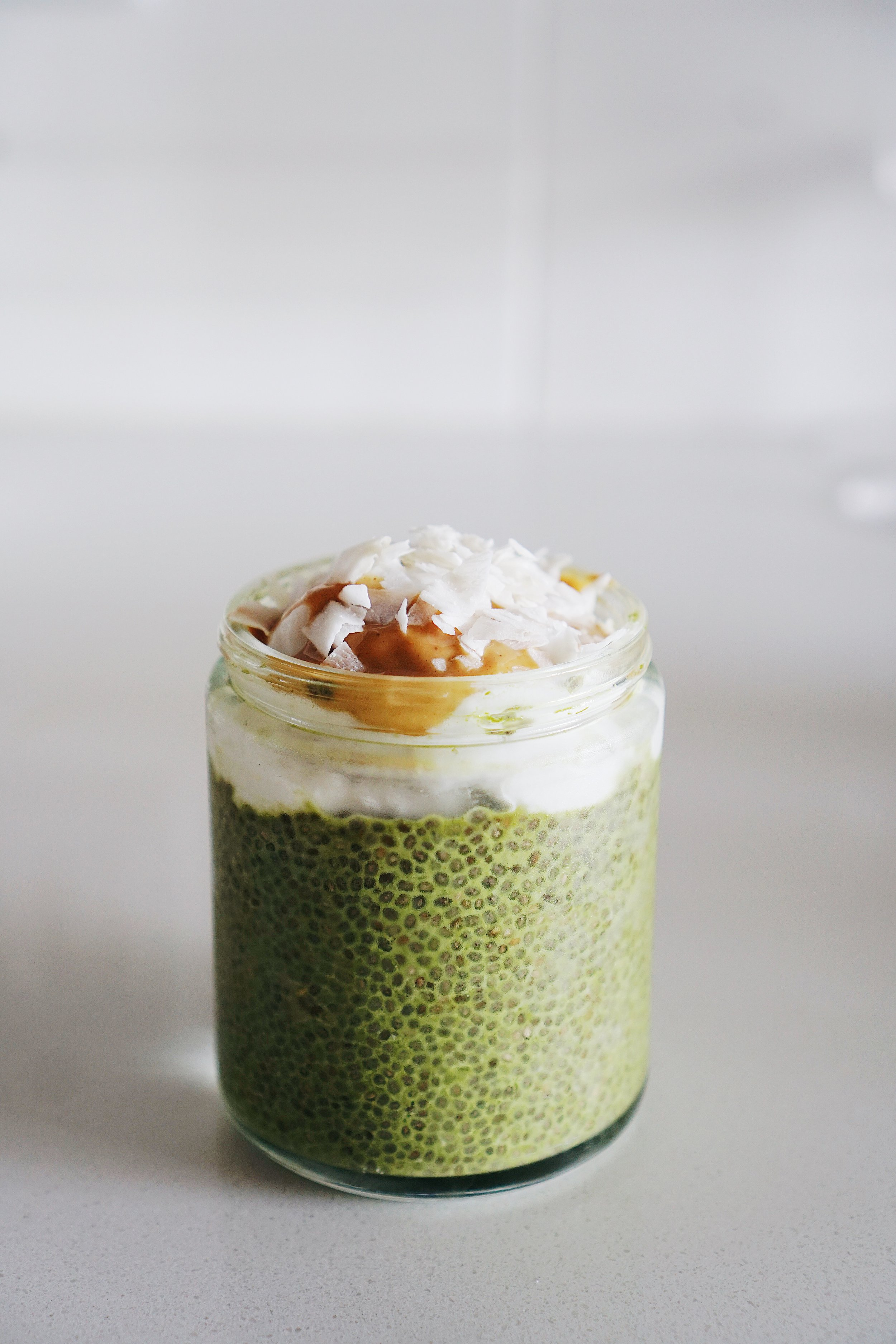 Matcha Chia Pudding with a Boost of MCT - keto breakfast, keto, gluten-free, dairy-free, soy-free 9.JPG