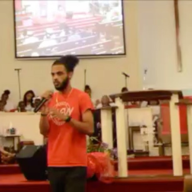 Last night at First Baptist Church of Vacherie!!! Just a quick clip!!! Check it out!! L's up!! #MissionLegendary