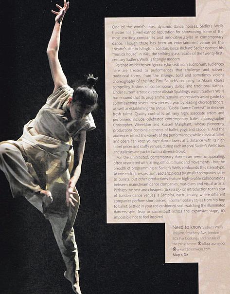 Contemporary dance feaure