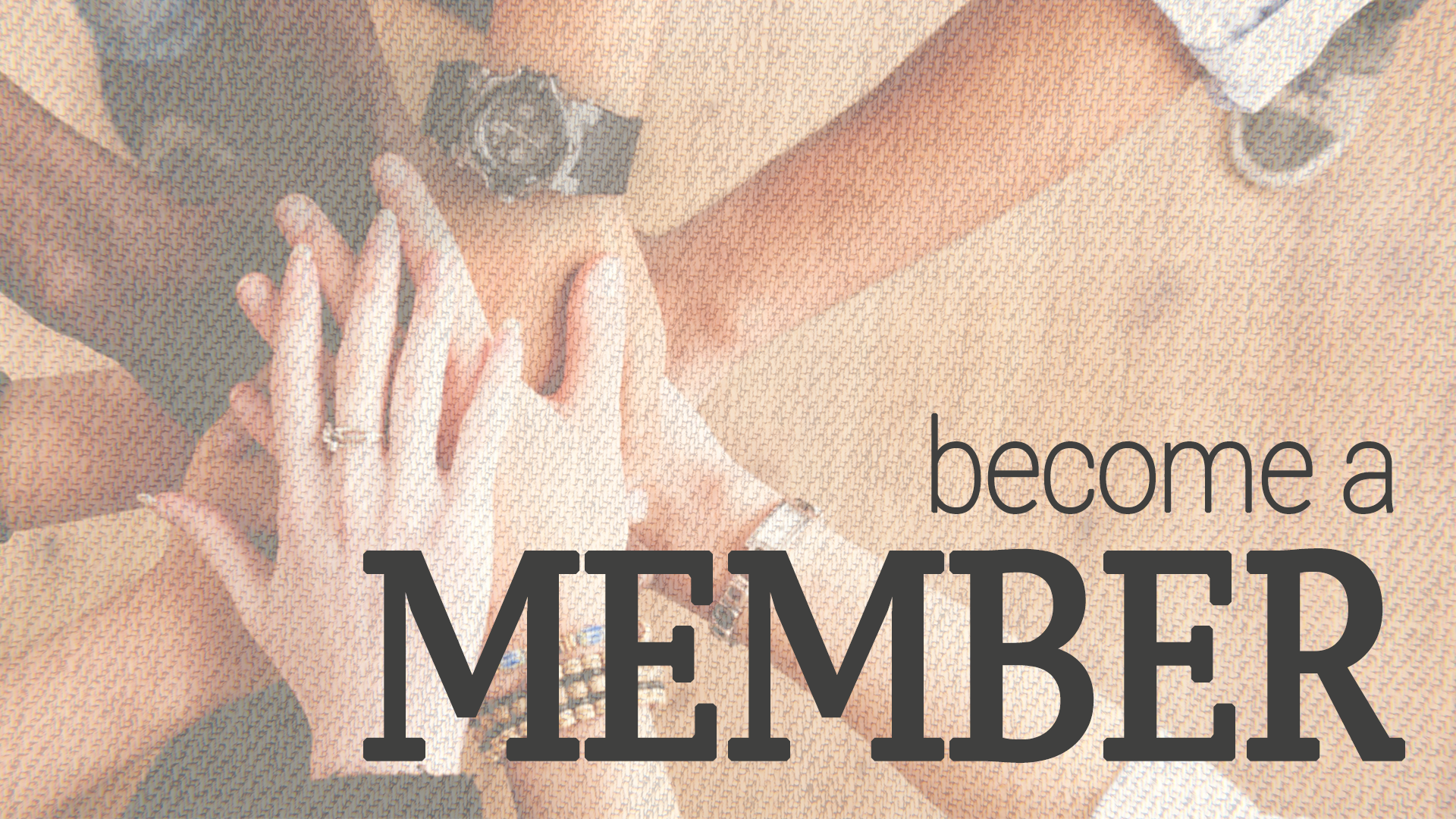 Pursuing Membership? - Follow our 3 Step Process