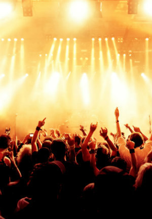 Concerts and Gigs - Custom-made protection to help you in the noisiest environments.
