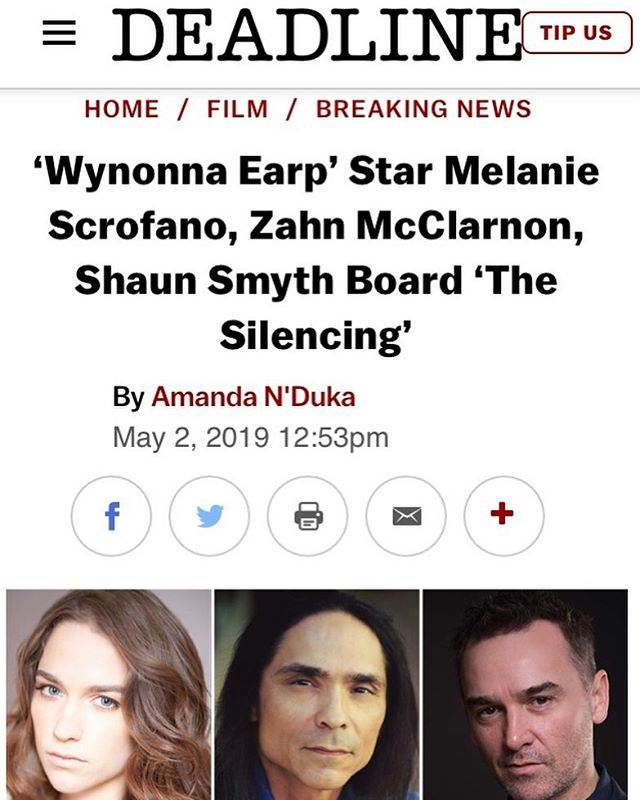 Look who's just been announced in LA's  @deadline mag! HFC's very own @smyth_shaun Congrats Shaun!! #hfc #hamont #featurefilm