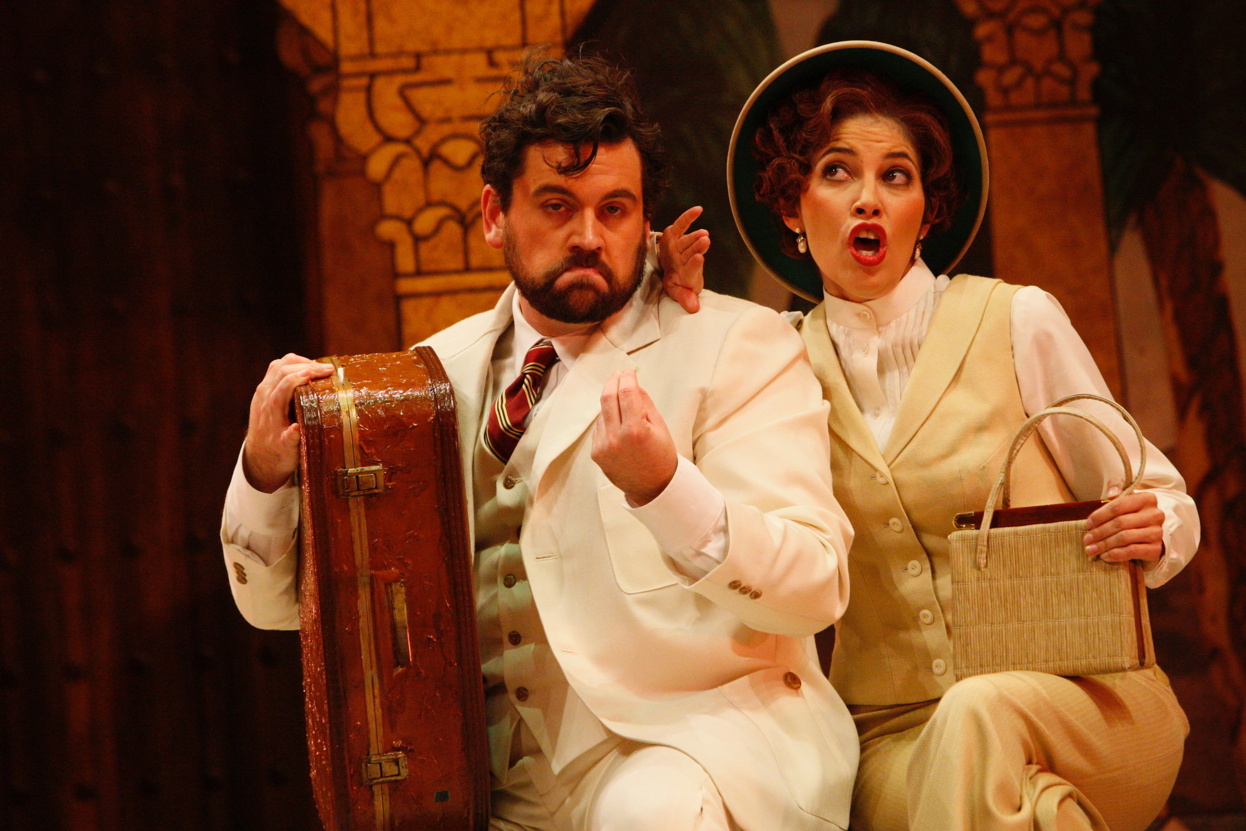 As Taddeo in The Italian Girl in Algiers, Minnesota Opera 2007