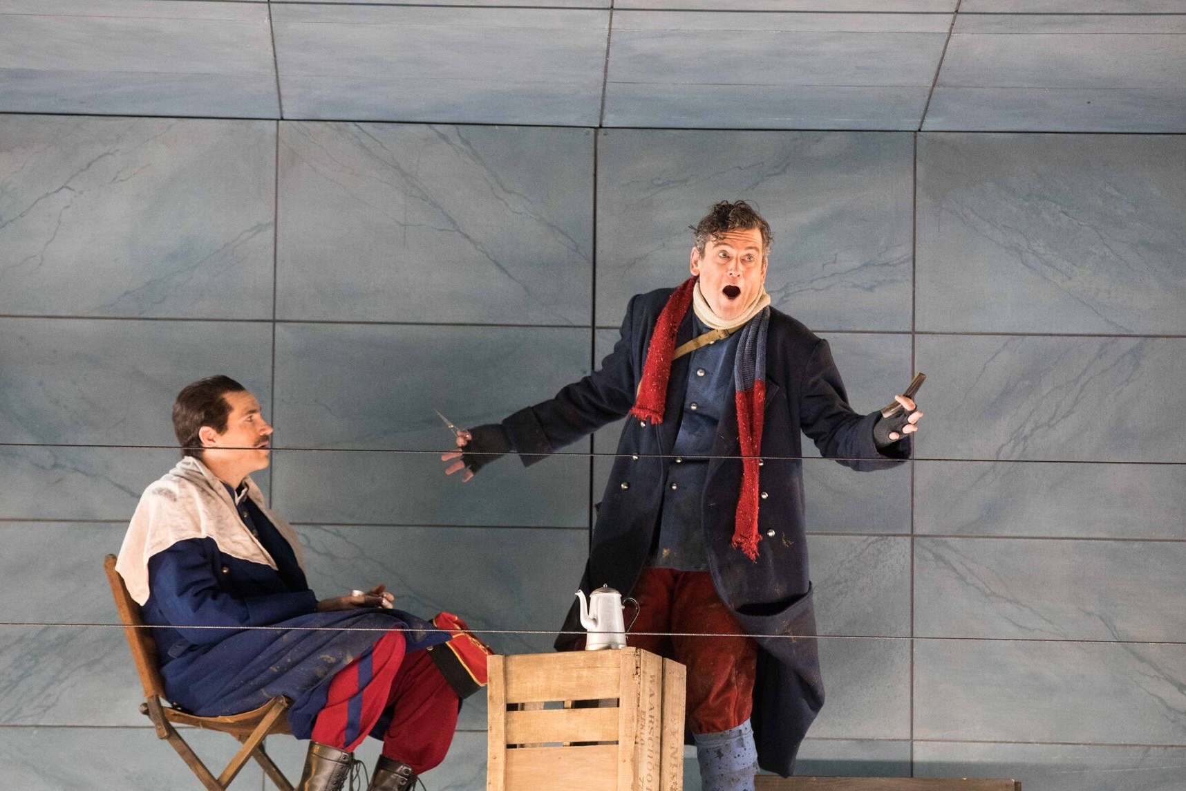 As Ponchel in Silent Night, Atlanta Opera 2016