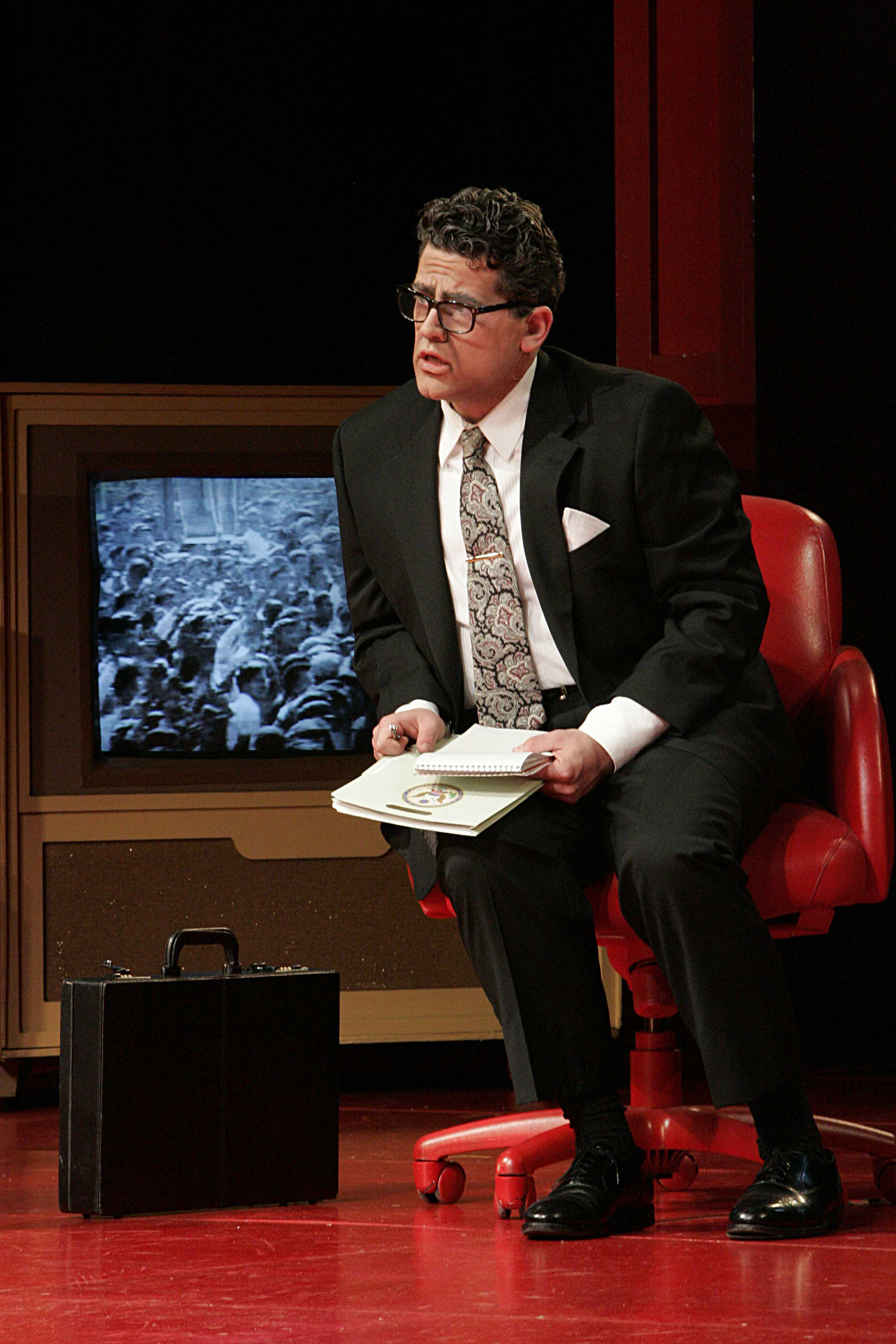 As Henry Kissinger in Nixon in China, Minnesota Opera 2005