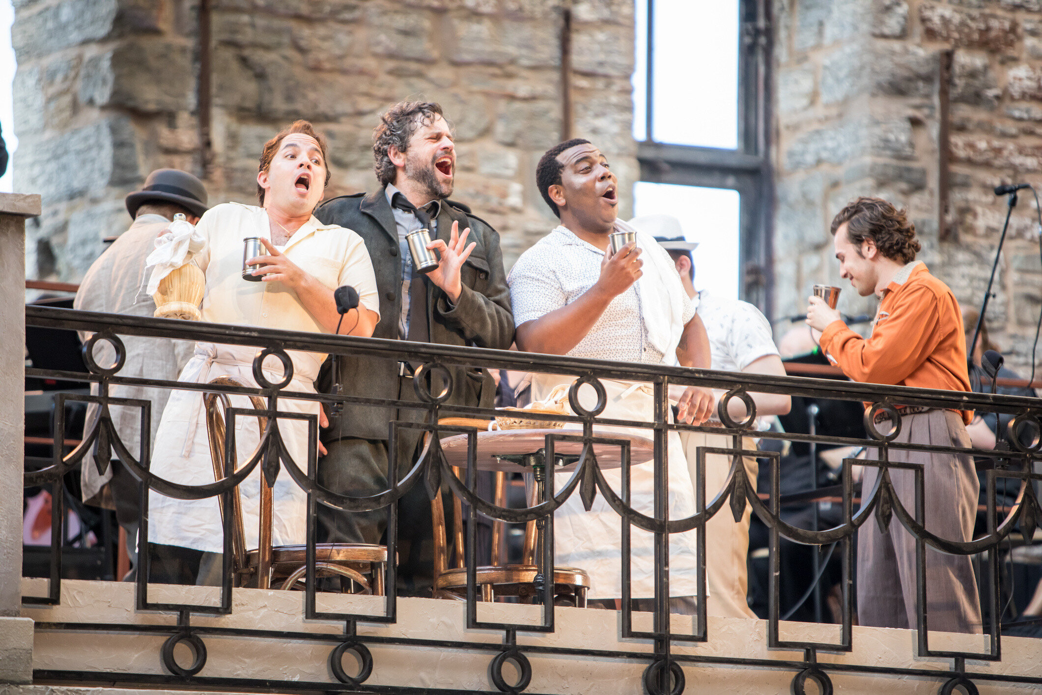 Don Alfonso in Così fan Tutte with Mill City Summer Opera