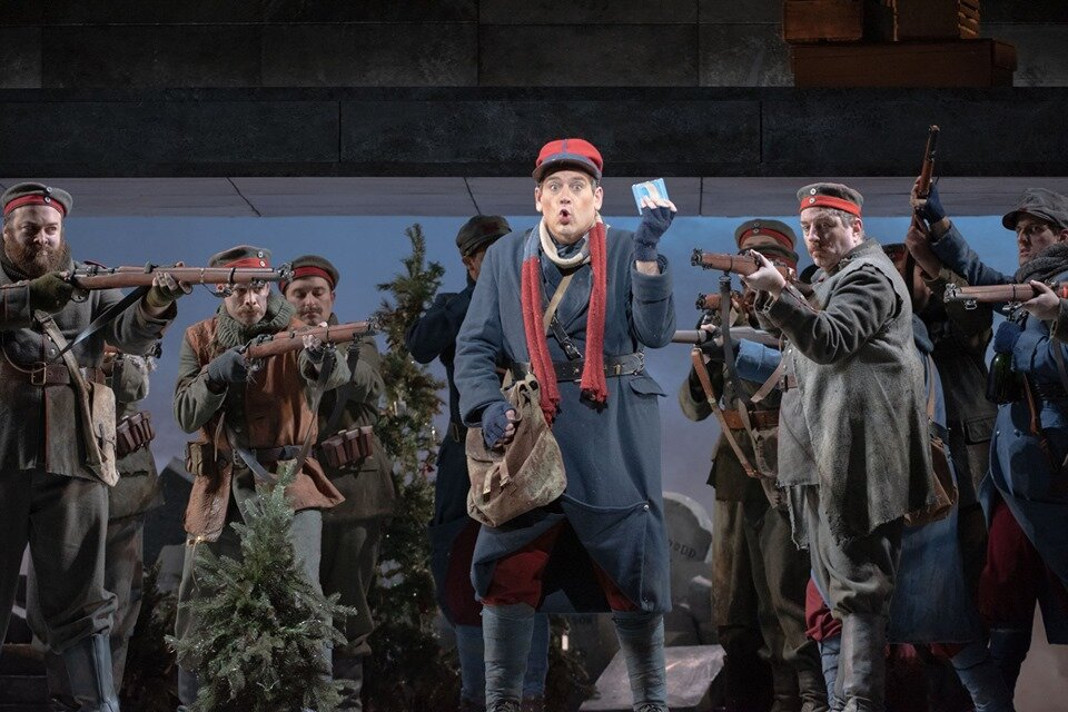 as Ponchel in  Silent Night  with Austin Opera