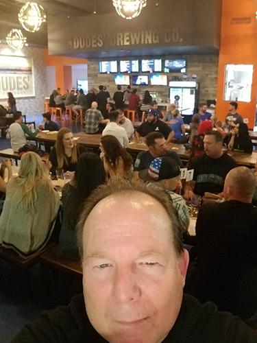 Ken Simons at the recently opened tasting room in Santa Clarita.