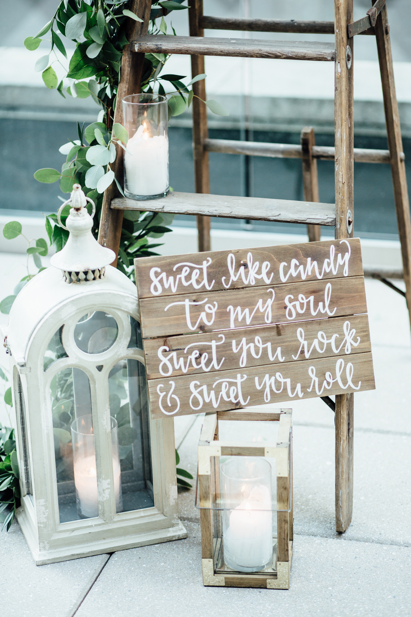 Romantic Rooftop Proposal Handwritten Calligraphy | Exhale Events and Wedding Planners Pittsburgh
