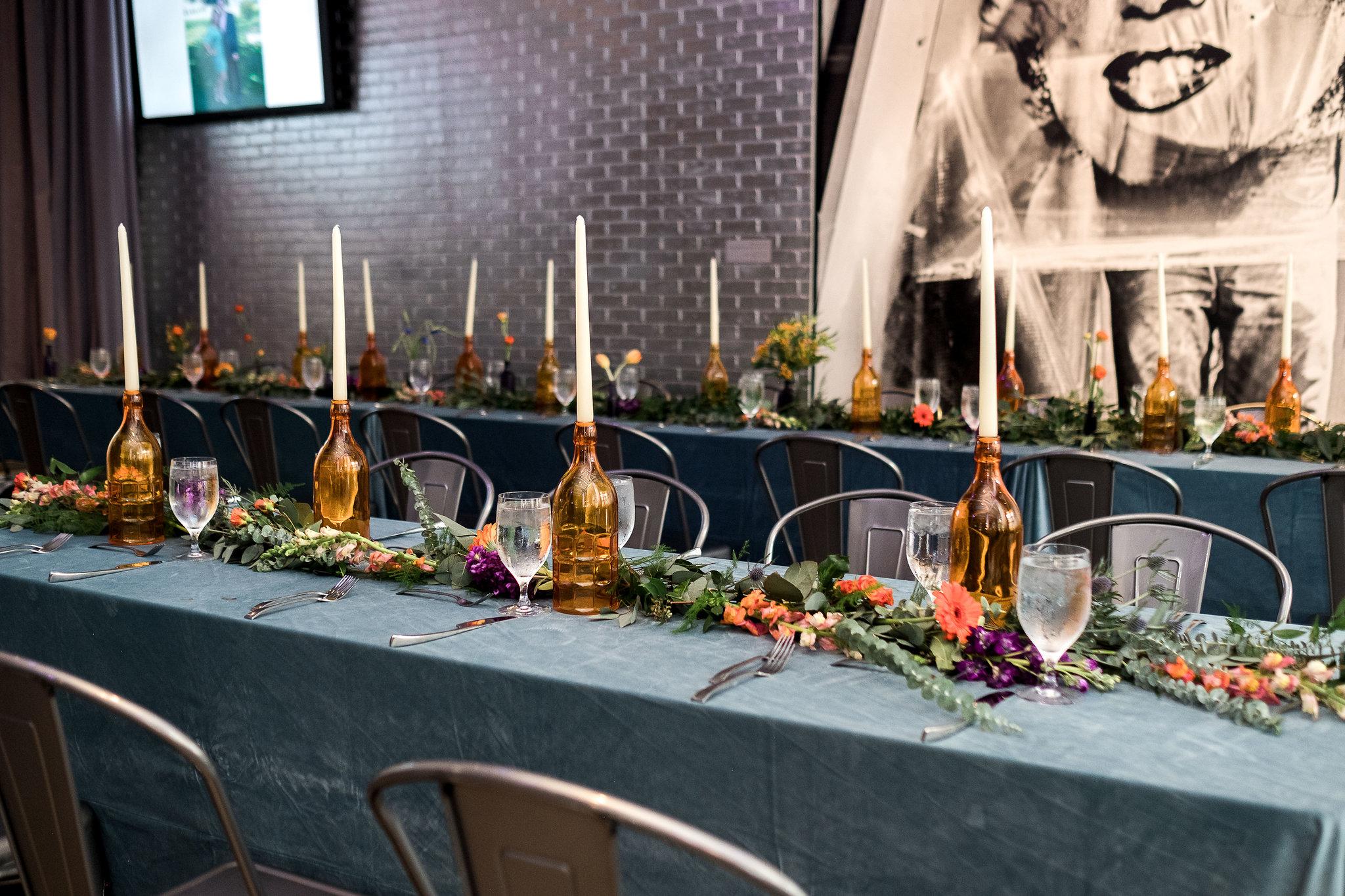 Wedding reception at Andy Warhol Museum