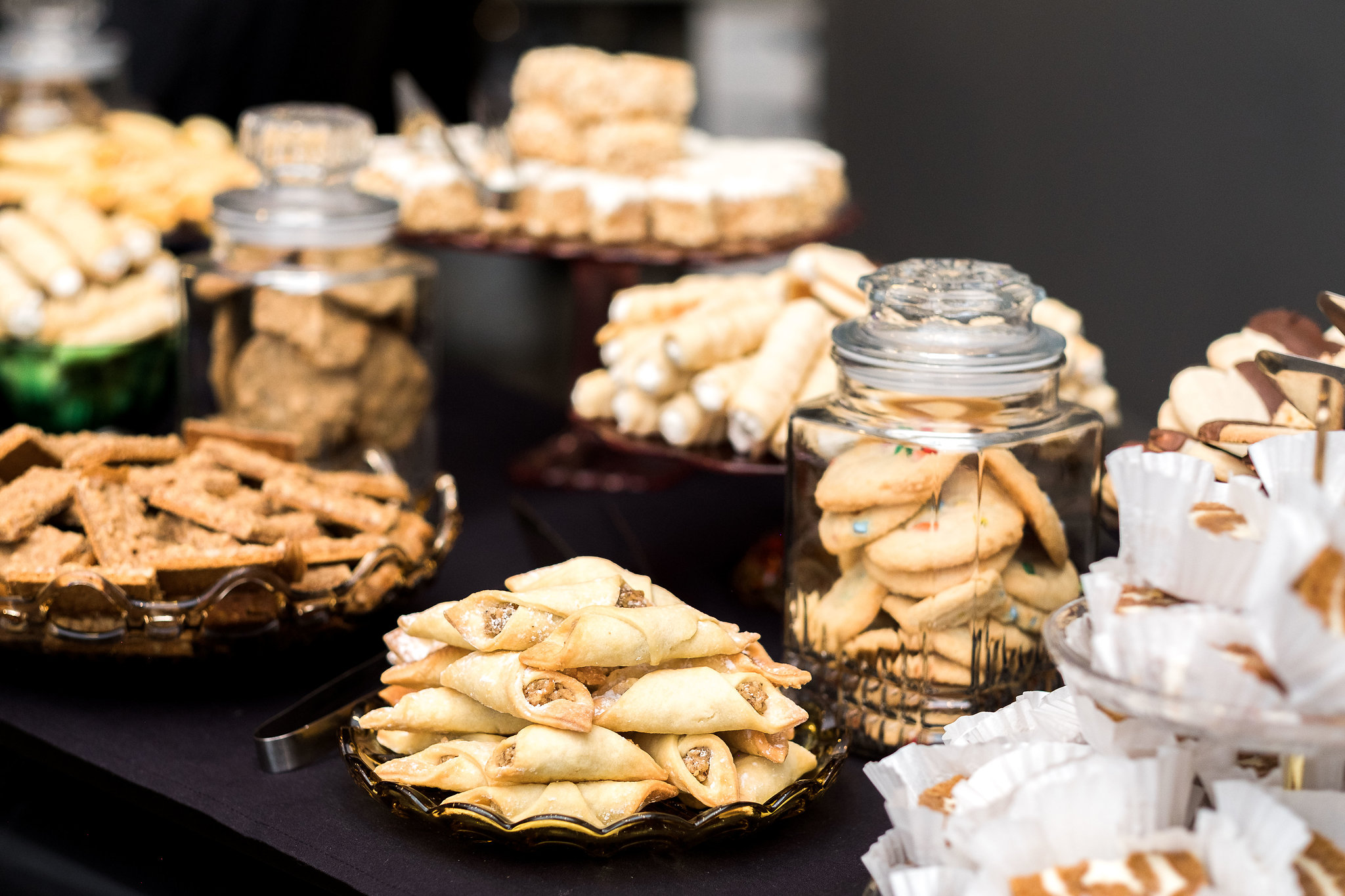 Pittsburgh cookie table at wedding