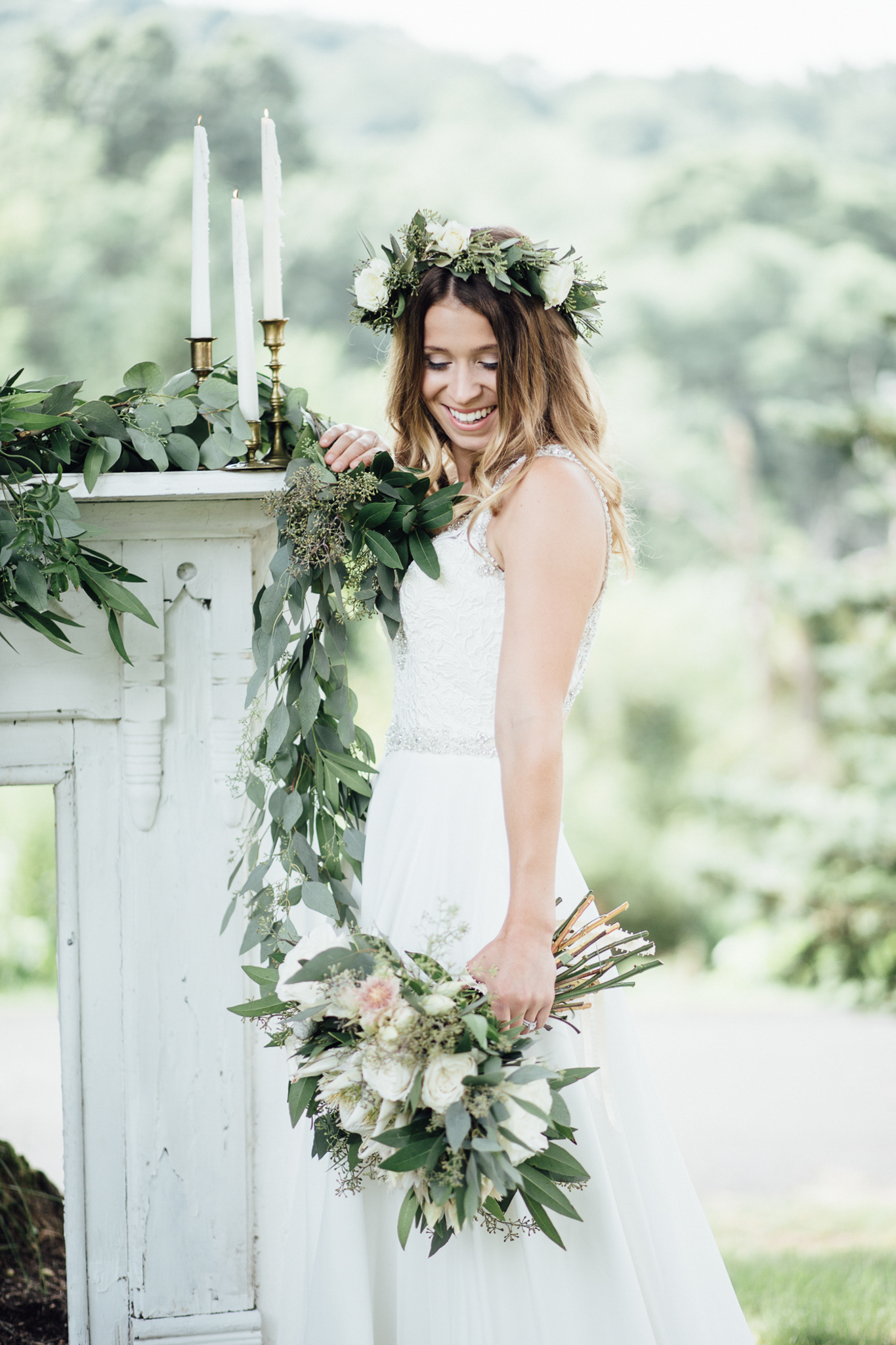 Summer Wedding - Modern Vintage | Exhale Events | Private Residence in Pittsburgh