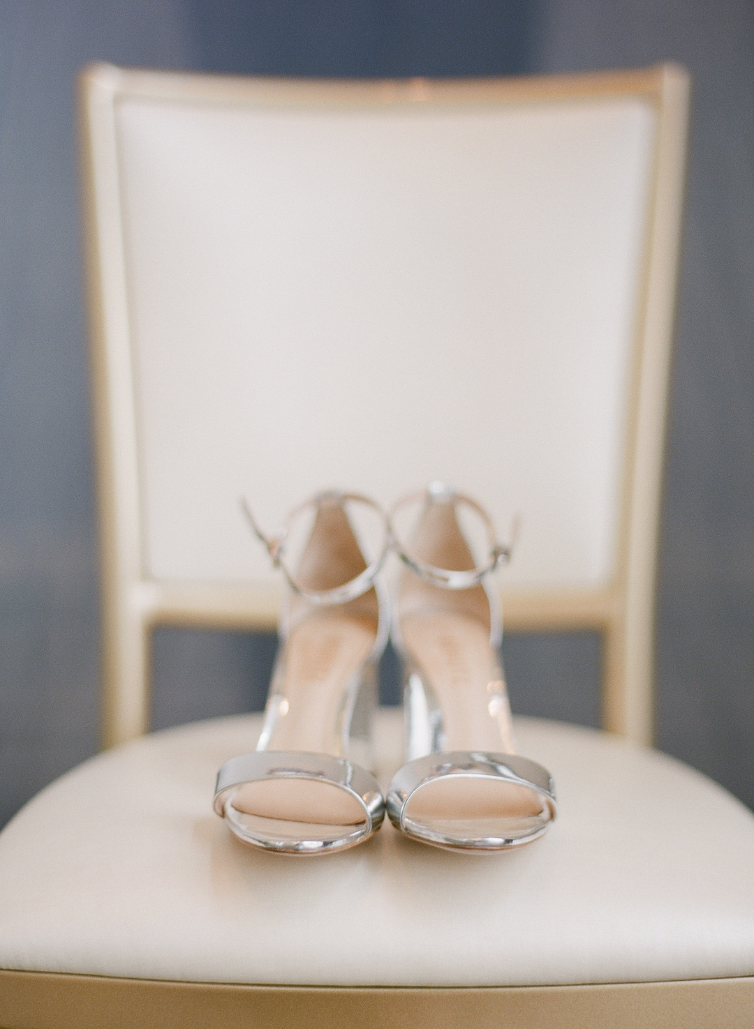 Bride's wedding shoes for Pittsburgh wedding at Hotel Monaco planned by Exhale Events. Find more modern wedding ideas at exhale-events.com!