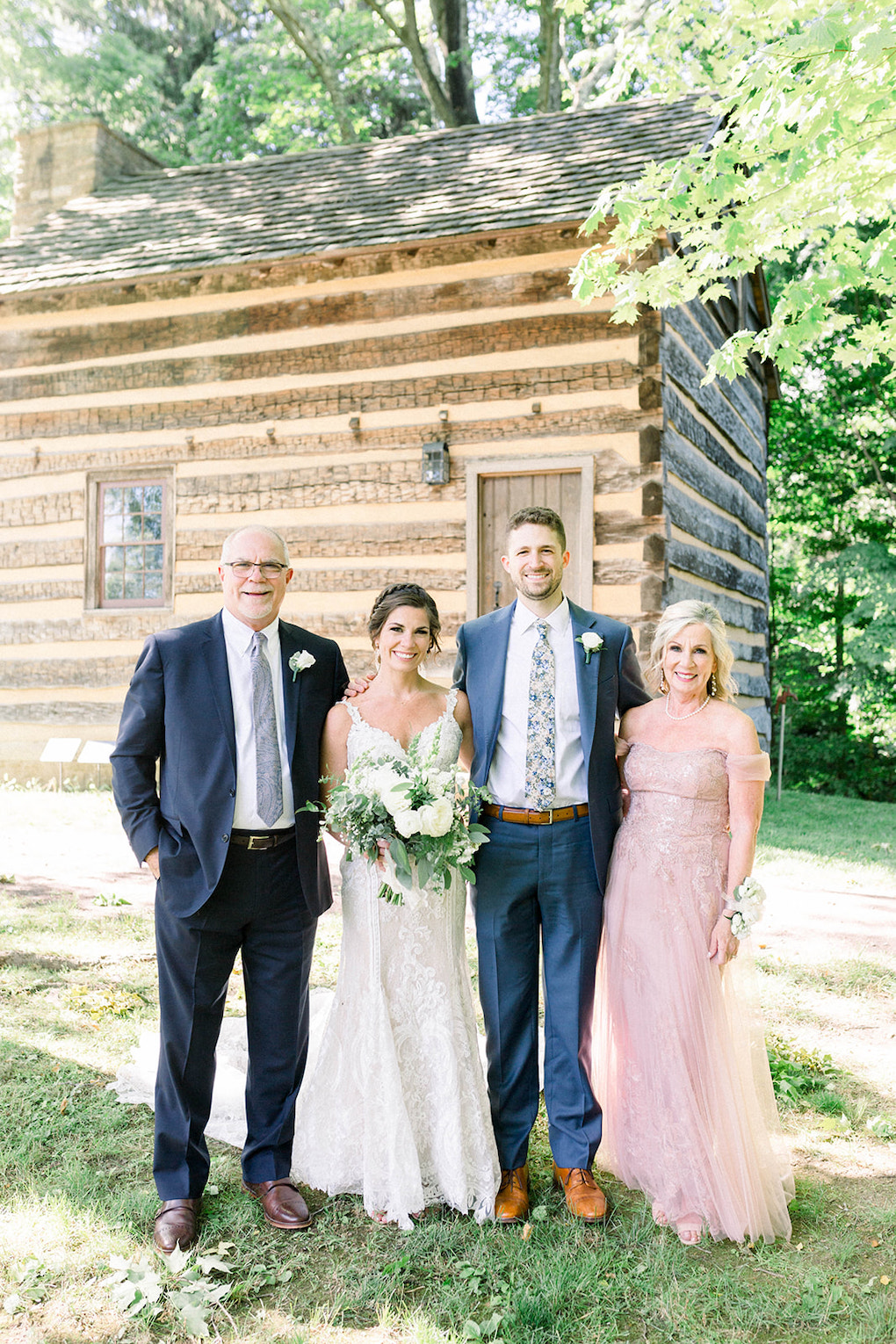 Outdoor Wedding Family Photos: Pittsburgh Botanic Garden wedding planned by Exhale Events. See more wedding inspiration at exhale-events.com!