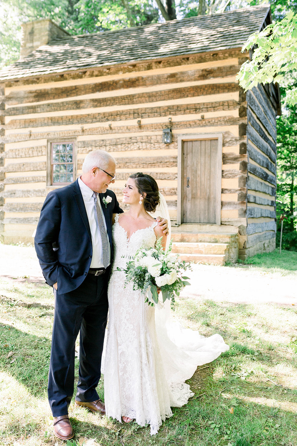 Father Daughter Wedding photos: Pittsburgh Botanic Garden wedding planned by Exhale Events. See more wedding inspiration at exhale-events.com!